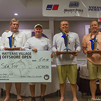 2018 Winners - Hatteras Village Offshore Open